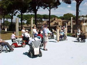 Italy: Rome Ostia Archeological park