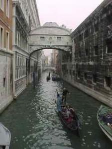 Italy Venice Bridge of Sights
